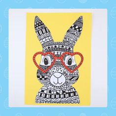 Funky Bunny Template (descarga GRATUITA) - Súbete a bordo de esta linda idea de funky bunny craft con nuestra descarga GRATUITA de plantillas - Easter Bunny Template, Bunny Templates, Toddler Crafts, Diy And Crafts, Crafts For Kids, Rock Crafts, Homemade Crafts, Jar Crafts, Creative Crafts