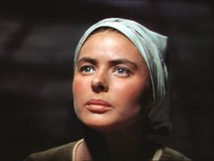 Bergman in 'Joan of Arc' (1948), USA, directed by Victor Fleming. (image courtesy CBS)
