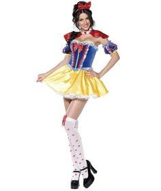 Boutique Snow White Princess Womens Costume | FAIRYTALE