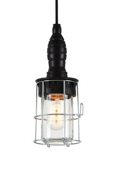 Ellos Home Loftlampe Morgan Sort - Loftslamper | Ellos Mobile