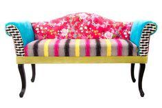 sympa, osez la couleur avec le style Kotécolor de chez Kotécaz... Home Living, Outdoor Furniture, Outdoor Decor, Vanity Bench, Decoration, Love Seat, Lounge, Couch, Home Decor