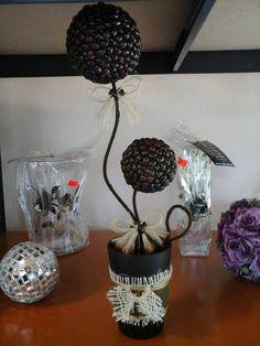 dekoracje pachnące kawą