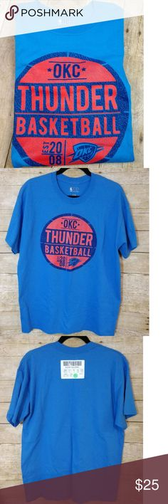 2f63c1343dbef7 Men s OKC Thunder NBA T-shirt New Men s OKC Thunder NBA T-shirt.
