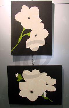 cuadros pintados a mano con acrílicos
