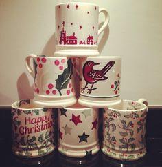 Emma Bridgewater Christmas Town 0.5 Pint Mug 2011
