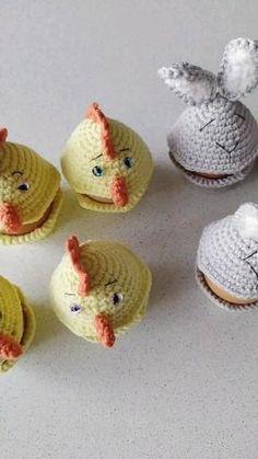 Crochet Teddy Bear Pattern, Crochet Rabbit, Crochet Patterns For Beginners, Crochet Patterns Amigurumi, Pattern Cute, Easter Crochet, Small Animals, Hello Dear, Amigurumi Toys