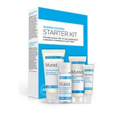 Murad Blemish Control Starter Kit (Worth £53.00) Clear Pores, Clear Skin, Spot Treatment, Salicylic Acid, Perfect Skin, Starter Kit, Your Skin, Sensitive Skin, Lotion