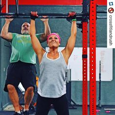 So #thankful for my #crossfitfamily! When I walked in the door @crossfitlandrush my goal was to #GetStrong! I'm making progress towards this goal and have the best Coaches i could ever ask for to help me reach it!! I'm determined to be #strongnotskinny and proud of what my body can do!! #girlswholift #crossfit #crossfitgirl  #Repost @crossfitlandrush with @repostapp.  Big shout-out to the lovely @mrssimmy35 who has put in a ton of work on the pull up bar the past month and is now distroying…