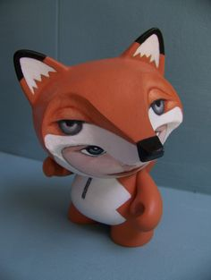 Munnyworld Customs: Woodland Creatures on Toy Design Served