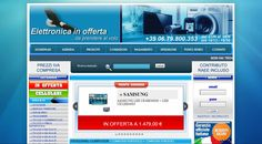 E-commerce Totally Custom created for Giemme Elettronica - Electronics sector