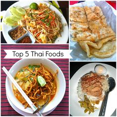Our Top 5 Favorite Thai Foods | a Nomads Dream