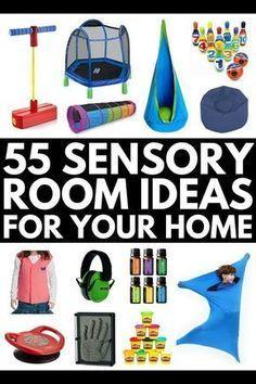 55 Sensory Room Equipment Essentials for Kids with Autism and SPD – – Diet Sensory Room Autism, Sensory Activities For Autism, Sensory Rooms, Sensory Toys For Autism, Proprioceptive Activities, Diy Sensory Toys, Sensory Tubs, Sensory Diet, Sensory Issues