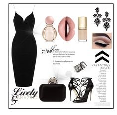 """""""18th Birthday Party"""" by medina-unique ❤ liked on Polyvore featuring Rare London, By Terry, Dolce&Gabbana, Jimmy Choo, Fallon, Nevermind and Bulgari"""