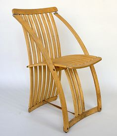 Steam Bent, Ash, Leve Chair Manufactured By Woodmark By Sydney Furniture  Designer And Maker, Gary Galego (2000) Garygalego.com | Design   Chairs |  Pinterest ...