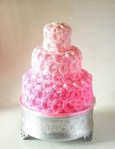 All Pink Cake