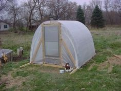 How To Build a Simple Greenhouse - Living Green And Frugally