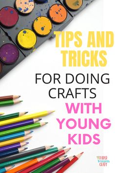 Crafts To Do, Paper Crafts, Kids Crafts, Kids Scissors, Easy Toddler Crafts, Craft Box, Art For Kids, Activities For Kids, Homeschooling
