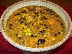 Chilean Bean and Corn Stew - recipeideashop