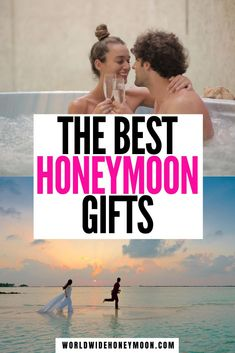 From honeymoon fund ideas to gifts for the honeymoon, these are the perfect wedding registry gifts | Wedding Gift Ideas | Honeymoon Gift Ideas For Couple | Wedding Gift Ideas for Bride and Groom | Wedding Gifts | Wedding Registry Ideas Unique | Wedding Registry Must Haves | Honeyfund #weddingregistry #honeymoonfund #honeyfund #honeymoongiftideas Honeymoon Fund, Honeymoon Gifts, Best Honeymoon, Solo Travel Tips, Travel Info, Travel Guides, Wedding Registry Ideas, Travel Themes, Travel Destinations