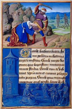 The Morgan Library & Museum Online Exhibitions - Hours of Henry VIII - St. Barbara