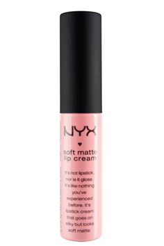 "Pros Spill On The BEST Beauty Hacks #refinery29 http://www.refinery29.com/65448#slide6 For a healthy flush, Martin is a fan of this matte lip cream. ""The clean pink color works well on the lips but also as a cheek stain on the apples of the cheeks,"" he says. ""[Apply] three dots of color on each cheek) then rub into the skin to add a sheer wash of bright clean color without the use of powder."""
