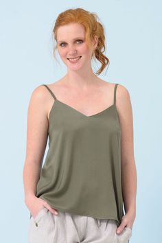 Camisole Spring Summer 2015, Basic Tank Top, Camisole, Tank Tops, Collection, Women, Fashion, Moda, Halter Tops