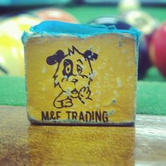 M  F Trading Billiard Chalk