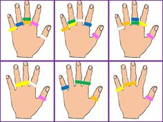 The site is not in English but you can easily find these great printable cards for working on fine motor skills with use of terry hair ties.Afbeeldingsresultaat voor Ring L DingScribd is the world's largest social reading and publishing site. Montessori Activities, Indoor Activities, Educational Activities, Toddler Activities, Motor Skills Activities, Fine Motor Skills, Preschool Education, Preschool Activities, Finger Gym