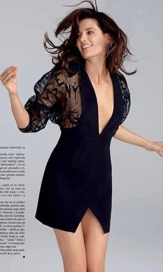 "Stana Katic in the October 19th issue of the magazine ""Gloria"" Croatia - Photo by Nino Muñoz"