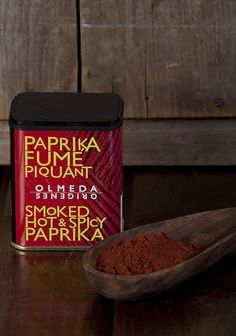 Olmeda Hot & Spicy Paprika Spanish Food, Sweet And Spicy, Spices, Stuffed Peppers, Hot, Foods, Kitchens, Spain, Red Peppers