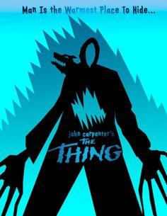 "John Carpenter's ""The Thing"" (1982) poster"