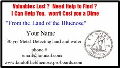 9 best mding business cards images on pinterest business cards business cards friendly metal detecting forums colourmoves