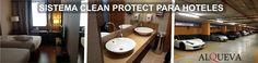 SISTEMA CLEAN PROTECT PARA HOTELES Sistema diseñado para facilitar el mantenimiento de limpieza diaria de un Hotel a través de: >> Limpieza con productos específicos para restaurar las superficies a su estado original. >>Tratamiento y protección de las superficies limpiadas con productos nanotecnológicos. >> Usos de utensilios de limpieza ergonómicos adaptados al sistema. >> Utilización de microfibra. >> Eliminación de químicos.