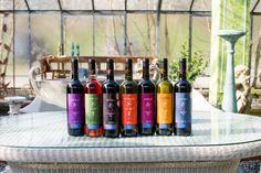 Cabernet Sauvignon & Merlot, Rose, Syrah, Chardonnay, Limnio, Malagousia, Sangiovese www.antikleia.de Cabernet Sauvignon, Wine Rack, Wines, Vineyard, Magic, Rose, Wine Making, Greece, Pink