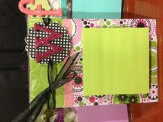 Personalized Post It Note Holders