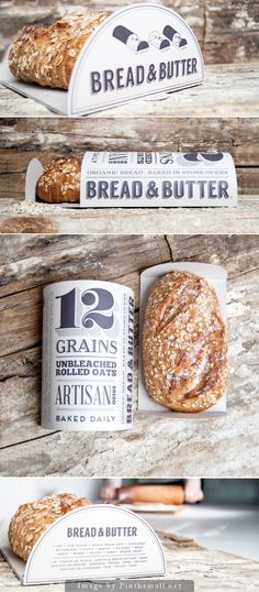 Bread & Butter Packaging by Morgan Rose