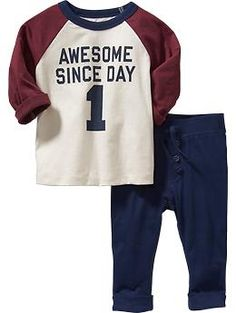 Graphic Tee & Pants Sets for Baby | Old Navy