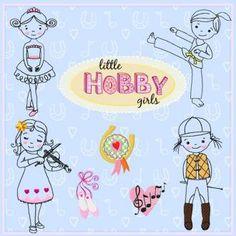 Little Hobby girls