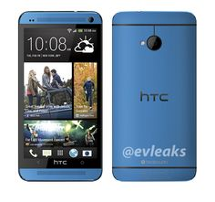 Blue HTC One Press Render