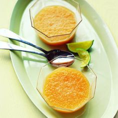Chilled Cantaloupe Soup Recipe - just in time for summer