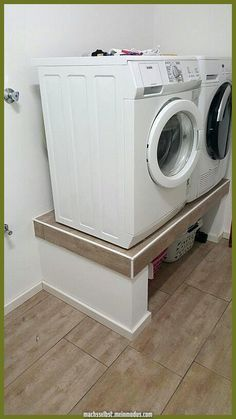 Get This Ideas How to Optimize Small Laundry Room and Make It more Stylish . Get This Ideas How to Optimize Small Laundry Room and Make It more Stylish … Get This Ideas How to Optimize Small Laundry Room and Make It more Stylish for you Basement Laundry, Small Laundry Rooms, Laundry Room Organization, Laundry Room Design, Small Bathroom, Laundry Decor, Laundry Basket, Laundry Room Inspiration, Washing Machine And Dryer