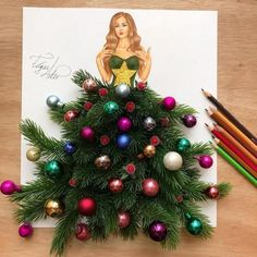 The creative illustrator Edgar Artis uses food and everyday objects to create illustrations that convey an impressive movement. Arte Fashion, 3d Fashion, Dress Fashion, Funny Drawings, Art Drawings, Creation Art, Illustration Mode, Fashion Design Drawings, Dress Drawing