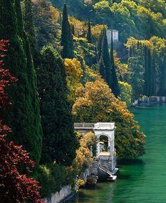 Lago Como,Italia.