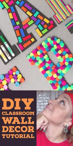 Check out this DIY makerspace classroom wall decor tutorial video. - Check out this DIY makerspace classroom wall decor tutorial video. I am trying to create a small ma - Kindergarten Classroom Decor, Space Classroom, Classroom Wall Decor, Diy Classroom Decorations, Classroom Walls, Classroom Themes, Classroom Organization, Preschool Decor, Classroom Board