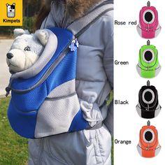 Новый Pet рюкзак собака Сумки собак Pet Carrier собака Передняя сумка щенок Портативный дорожная сумка сетки рюкзак голову Двойная Сумка купить на AliExpress