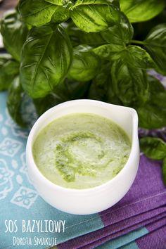 Sosy do sałatek Pesto, Grilling, Good Food, Food And Drink, Herbs, Treats, Cooking, Healthy, Recipes