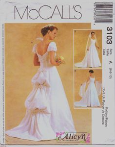 Alicyn Exclusives McCalls Pattern 3103 Womens by CloesCloset, $14.00