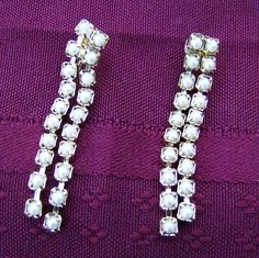 Vintage Gold Dangles  Handmade Elegant Pearls by JewelryArtistry