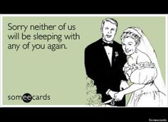 If I ever get married, this will be the announcement card.