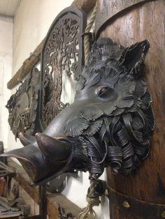 Boar - Bronze Metal Sculpture